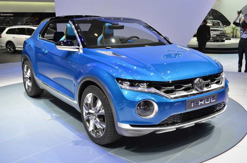 Огляд автомобіля Volkswagen T-Roc 2018