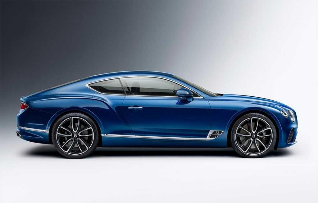 Огляд автомобіля Bentley Continental GT 2018 року