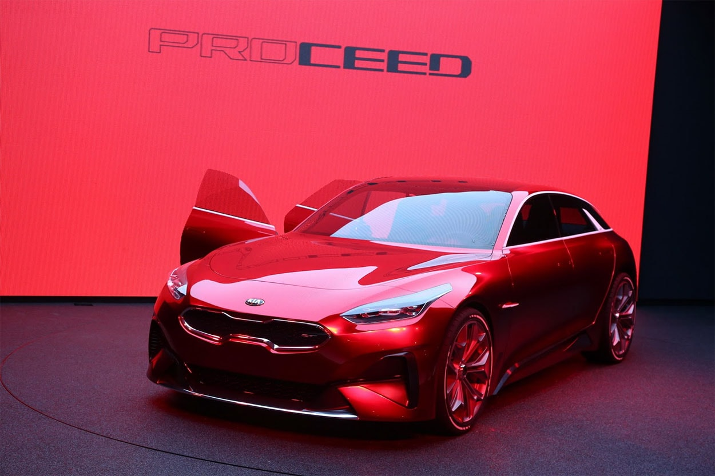 Огляд автомобіля Kia Proceed Concept 2017-2018