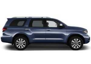 221 Огляд автомобіля Toyota Sequoia 2018