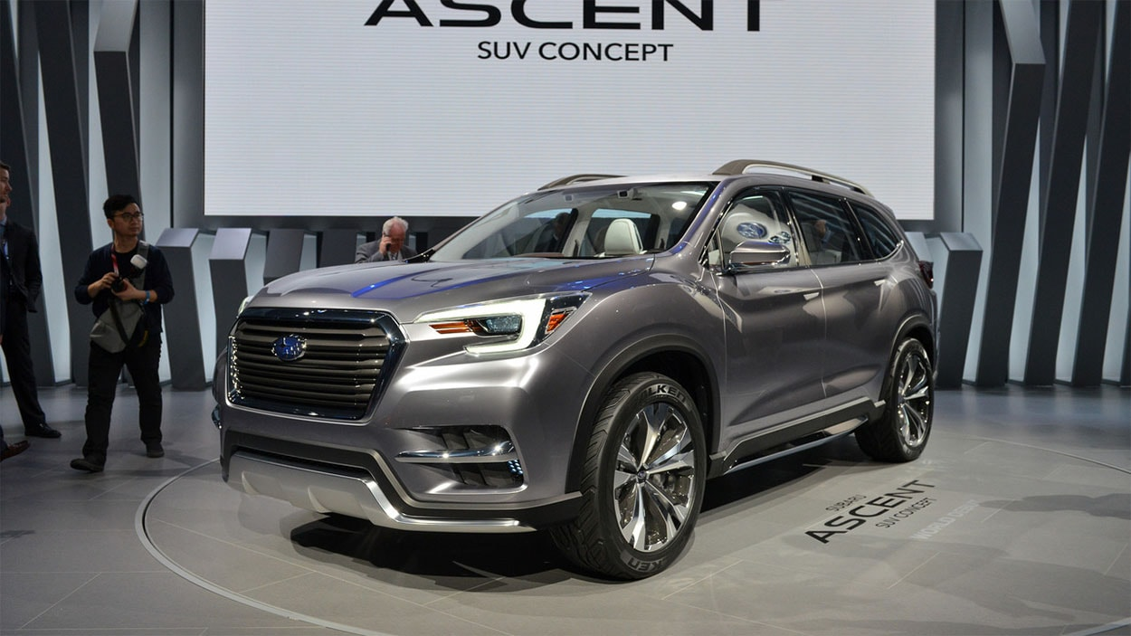 Огляд автомобіля Subaru Ascent 2017-2018