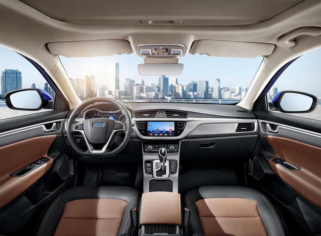 Огляд автомобіля Geely Emgrand GL 2018 – 2019