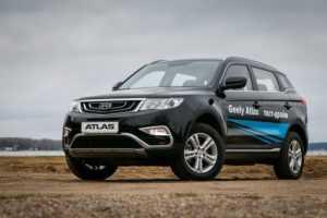 722 Огляд автомобіля Geely Atlas 2018 - 2019 року