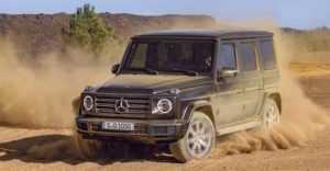 999 Огляд автомобіля Mercedes G-клас 2019