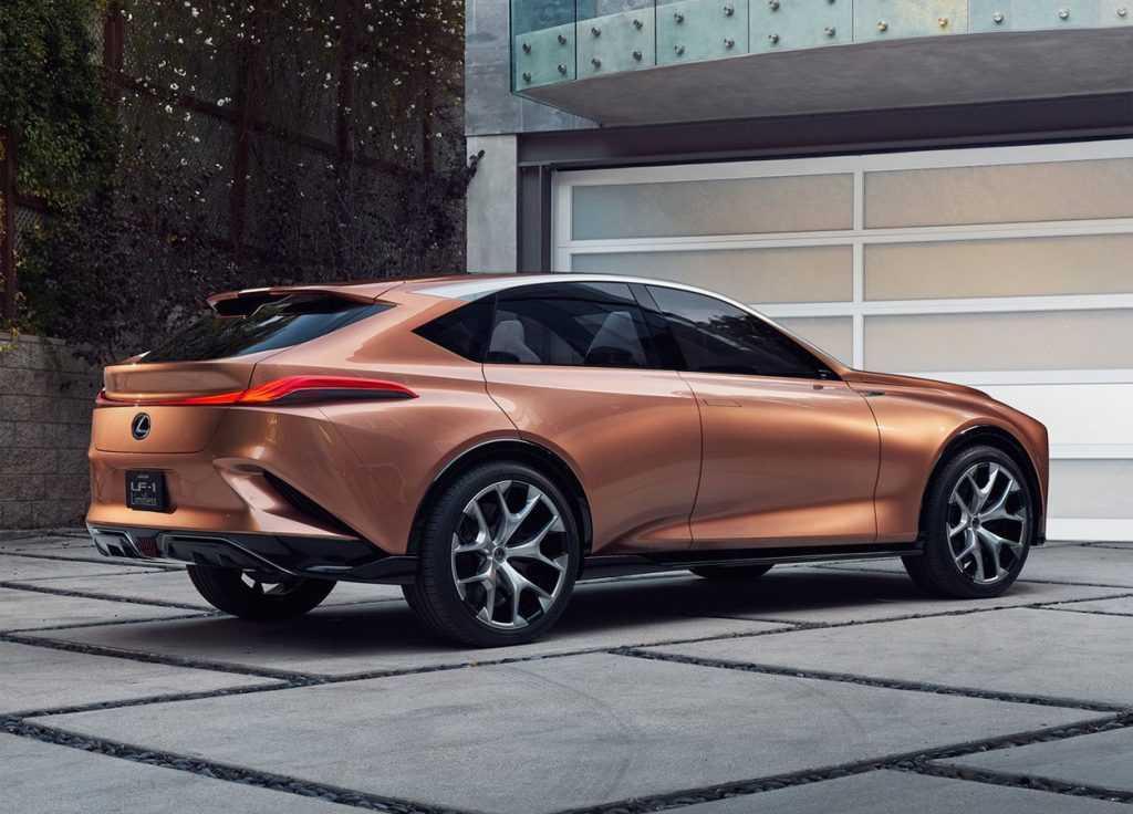 Огляд автомобіля Lexus LF-1 Limitless Concept 2018