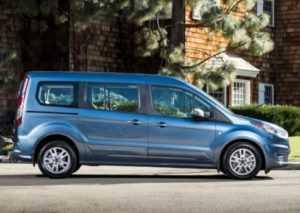 1141 Огляд автомобіля Ford Transit Connect Wagon 2018 - 2019