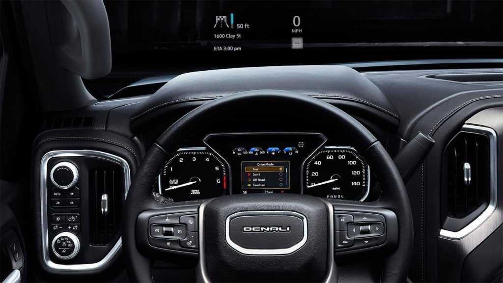 Огляд автомобіля GMC Sierra Denali 2019