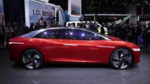 1468 Огляд автомобіля Volkswagen ID Vizzion Concept 2018 року