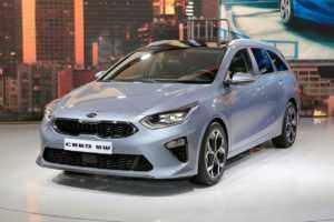 1455 Огляд автомобіля Kia Ceed Sportswagon 2018