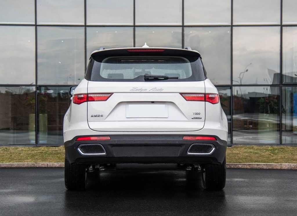 Огляд автомобіля Zotye T800 2018