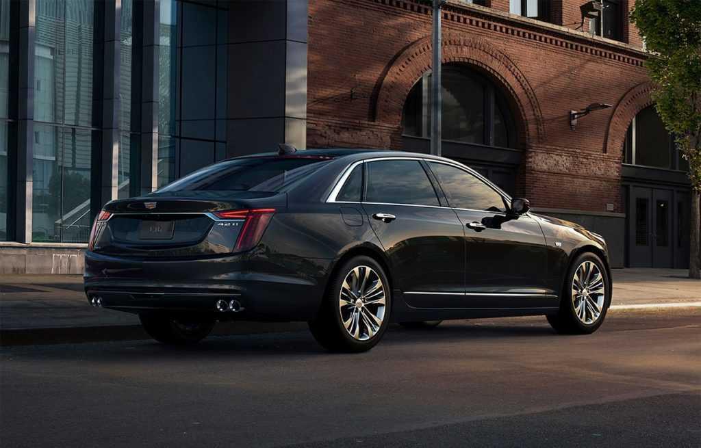Огляд автомобіля Cadillac CT6 (V-Sport) 2018-2019