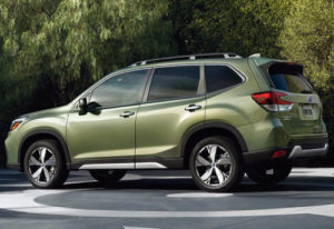 1668 Огляд автомобіля Subaru Forester 2019