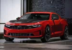 1733 Огляд автомобіля Chevrolet Camaro 2019