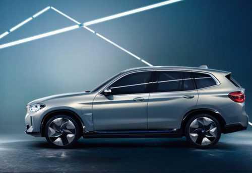 Огляд автомобіля BMW iX3 Concept 2018