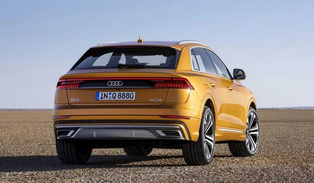 Огляд автомобіля Audi Q8 2018 – 2019