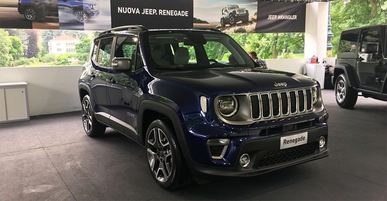 Огляд автомобіля Jeep Renegade 2018 – 2019