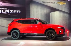 2234 Огляд автомобіля Chevrolet Blazer 2018 - 2019