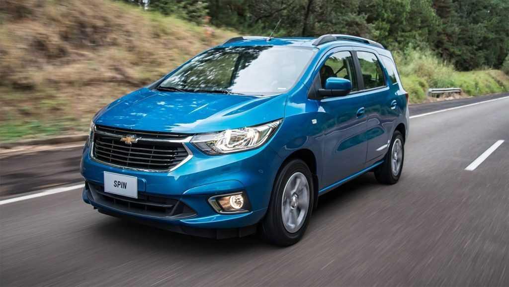 Огляд автомобіля Chevrolet Spin 2018 – 2019