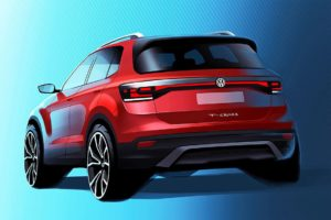 2385 Огляд автомобіля Volkswagen T-Cross 2018 - 2019