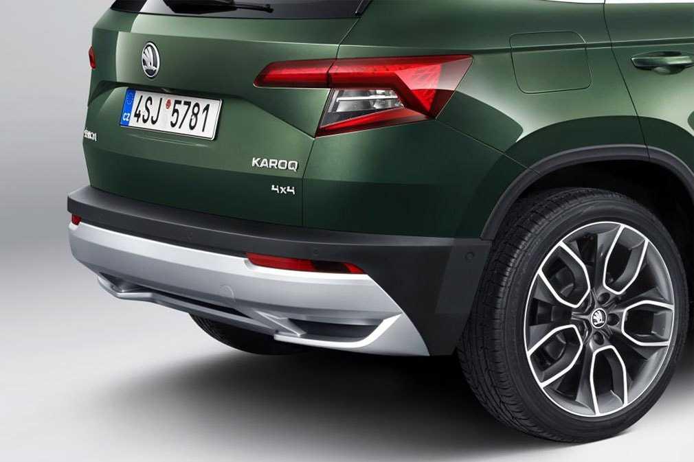 Опис автомобіля Skoda Karoq Scout 2019