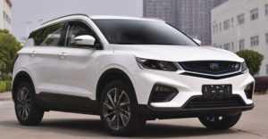 2466 Опис автомобіля Geely SX11 2018 - 2019