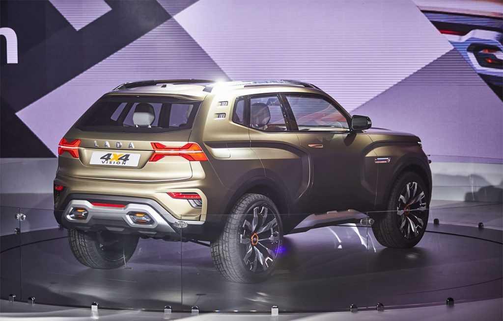 Опис автомобіля Lada 4 × 4 Vision 2018 – 2019