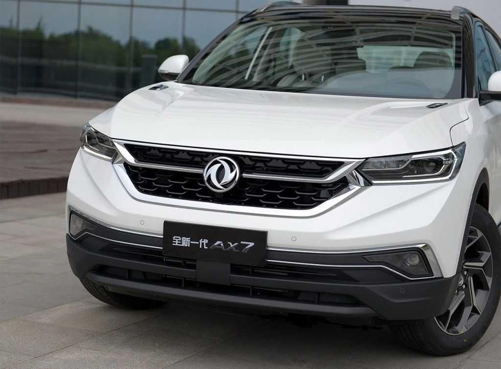 Опис автомобіля Dongfeng AX7 2019 – 2020