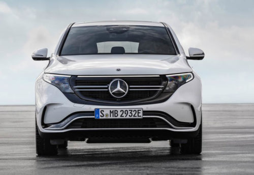 Опис автомобіля Mercedes EQC 2019 – 2020