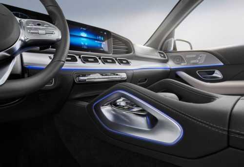 Опис автомобіля Mercedes-Benz GLE 2019