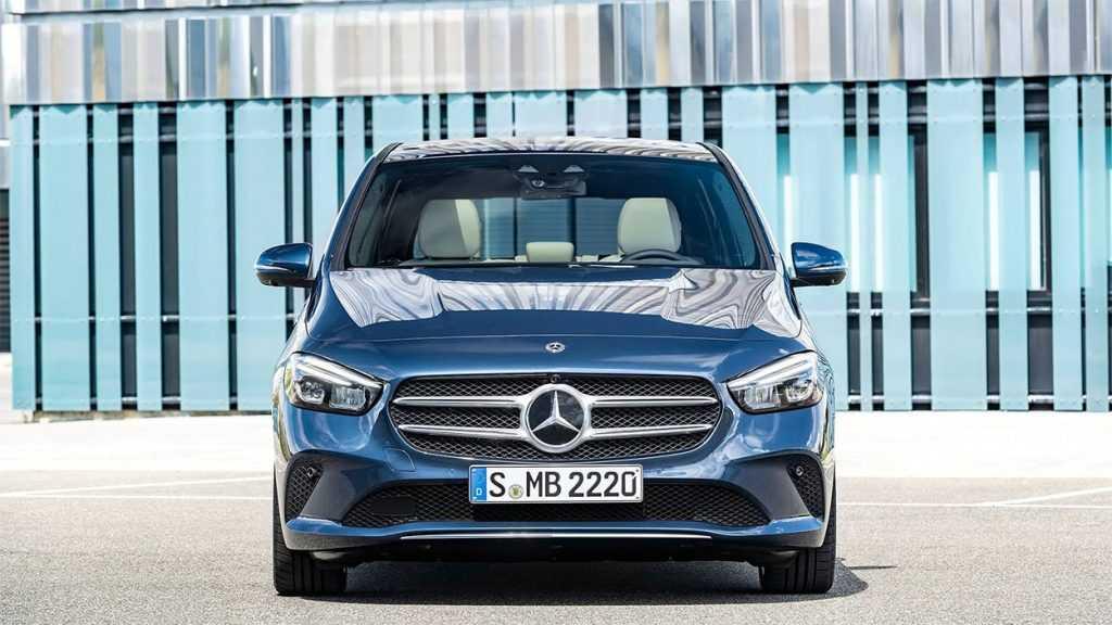 2788 Опис автомобіля Mercedes-Benz B-Class 2019 - 2020