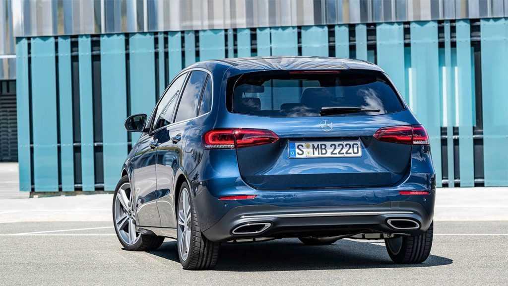 Опис автомобіля Mercedes-Benz B-Class 2019 – 2020