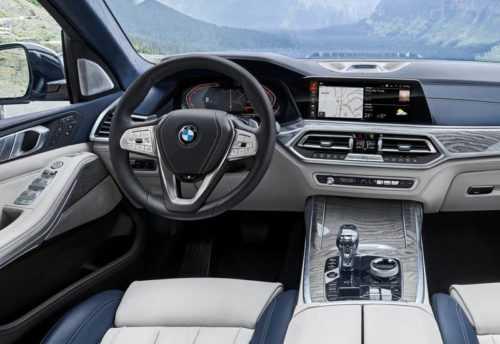 Опис автомобіля BMW X7 2019