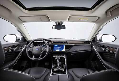 Опис автомобіля Ford Territory 2019 – 2020