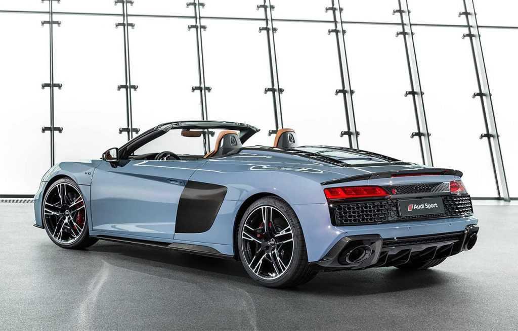 2871 Опис автомобілів Audi R8 Spyder і Coupe 2019 - 2020