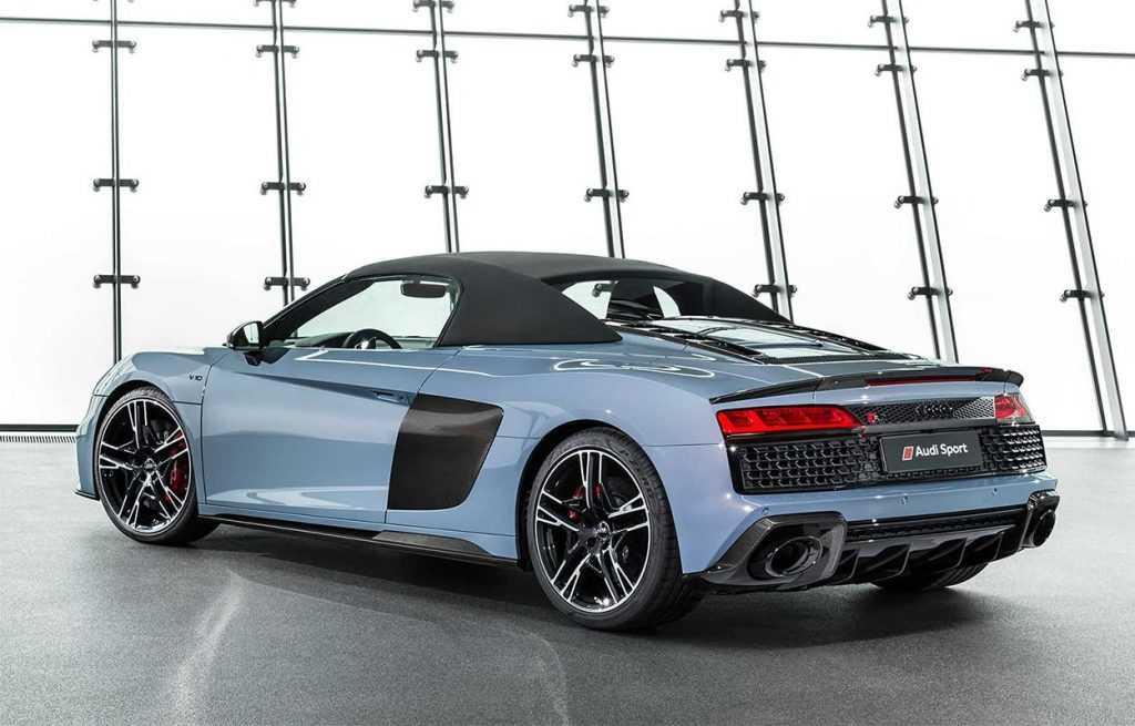 Опис автомобілів Audi R8 Spyder і Coupe 2019 – 2020