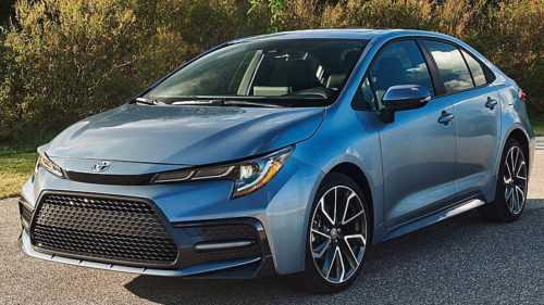 3020 Опис автомобіля Toyota Corolla 2019 - 2020