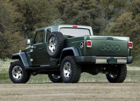 3013 Опис автомобіля Jeep Gladiator 2019
