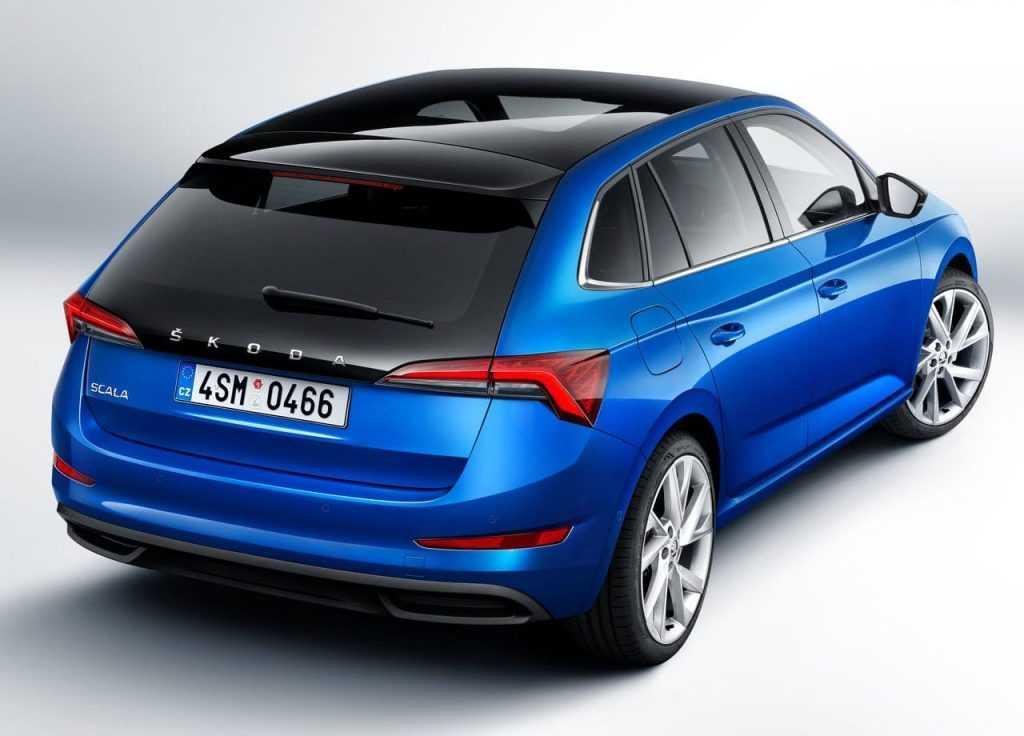 3086 Опис автомобіля Skoda Scala 2018 - 2019