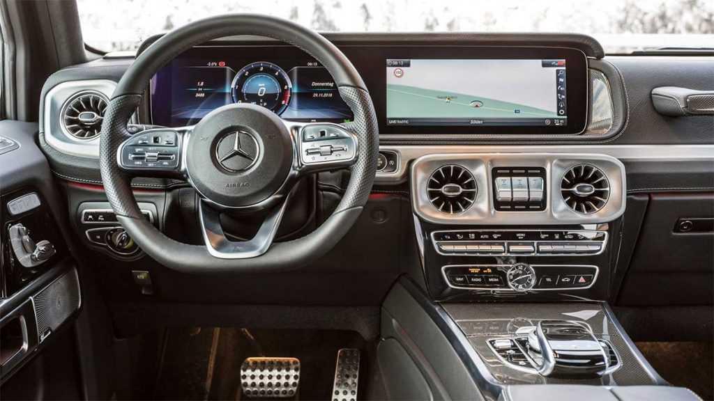 Опис автомобіля Mercedes-Benz G350d 2019 року