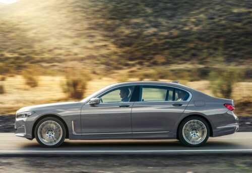 3176 Опис автомобіля BMW 7-серії 2019