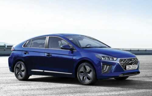 3290 Опис автомобіля Hyundai Ioniq 2019 - 2020