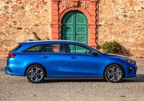 3264 Опис автомобіля Kia Ceed Sportswagon 2019 - 2020