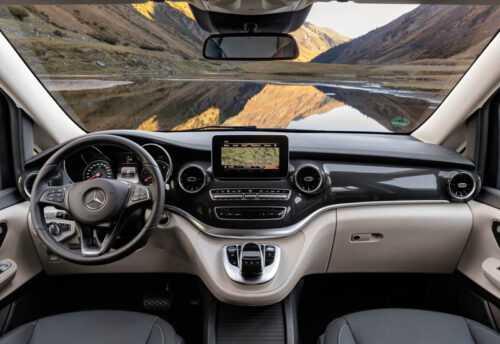 Опис автомобіля Mercedes-Benz V-Class 2020