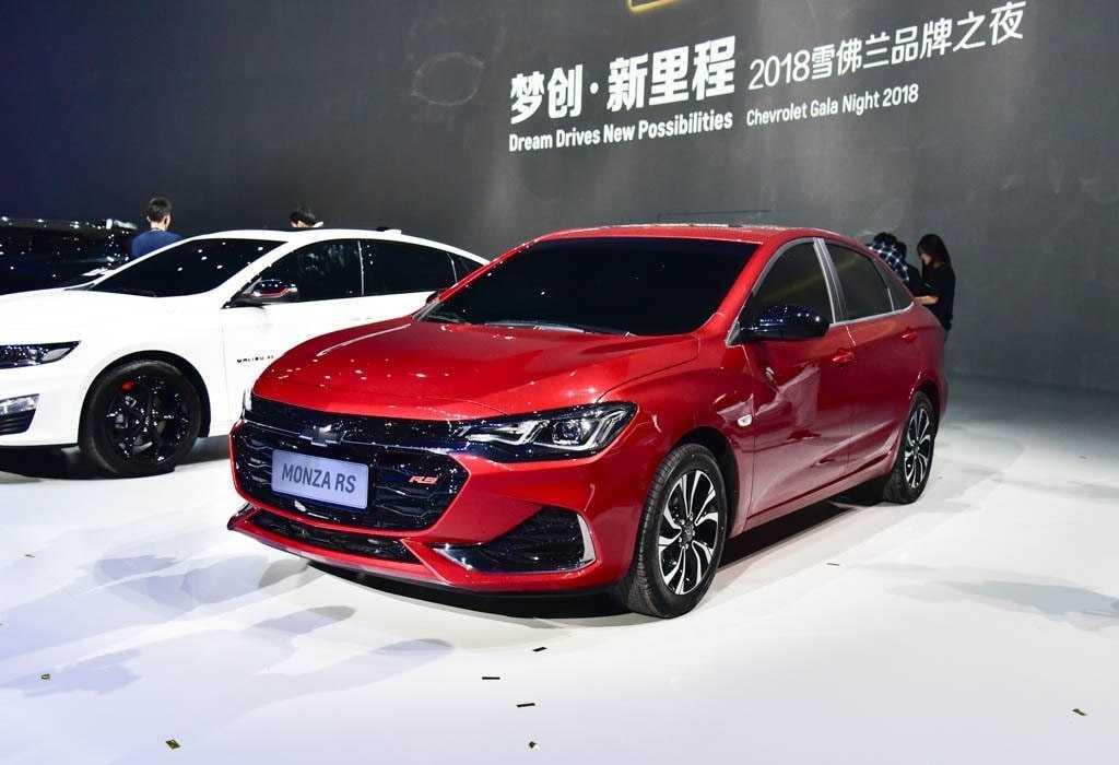 Опис автомобіля Chevrolet Monza 2019 – 2020