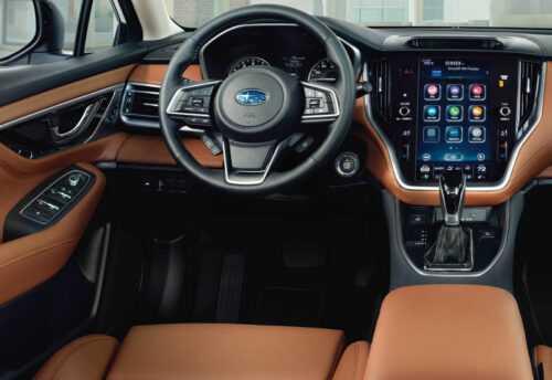 Опис автомобіля Subaru Legacy 2019 – 2020