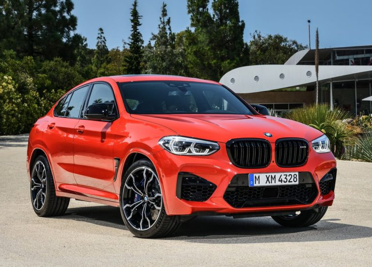 3440 Опис автомобіля BMW X3 M і X4 M 2019 - 2020