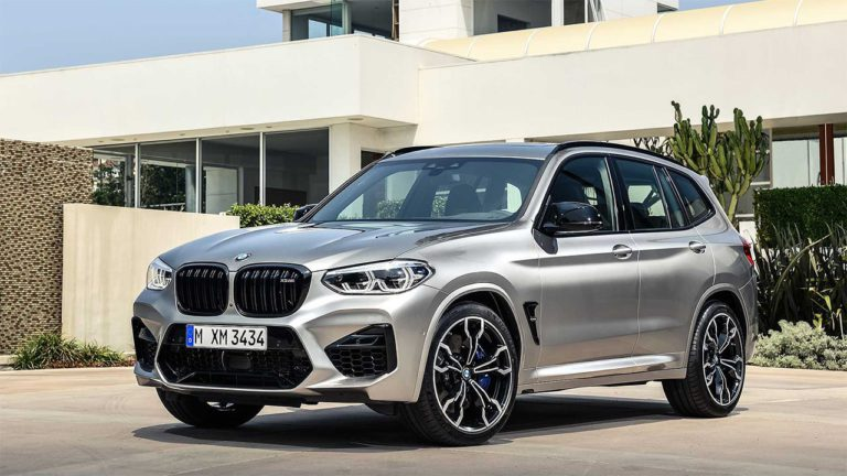 Опис автомобіля BMW X3 M і X4 M 2019 – 2020