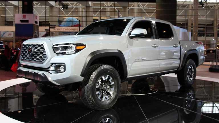 3417 Опис автомобіля Toyota Tacoma 2020 - 2021