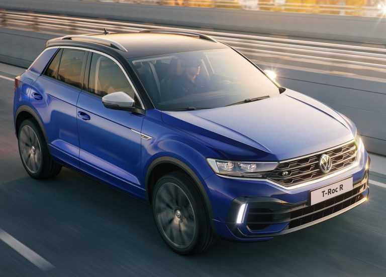 3560 Опис автомобіля Volkswagen T-Roc R 2019 - 2020