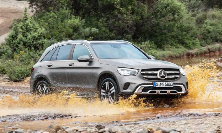 3548 Опис кросовера Mercedes-Benz GLC 2019 - 2020